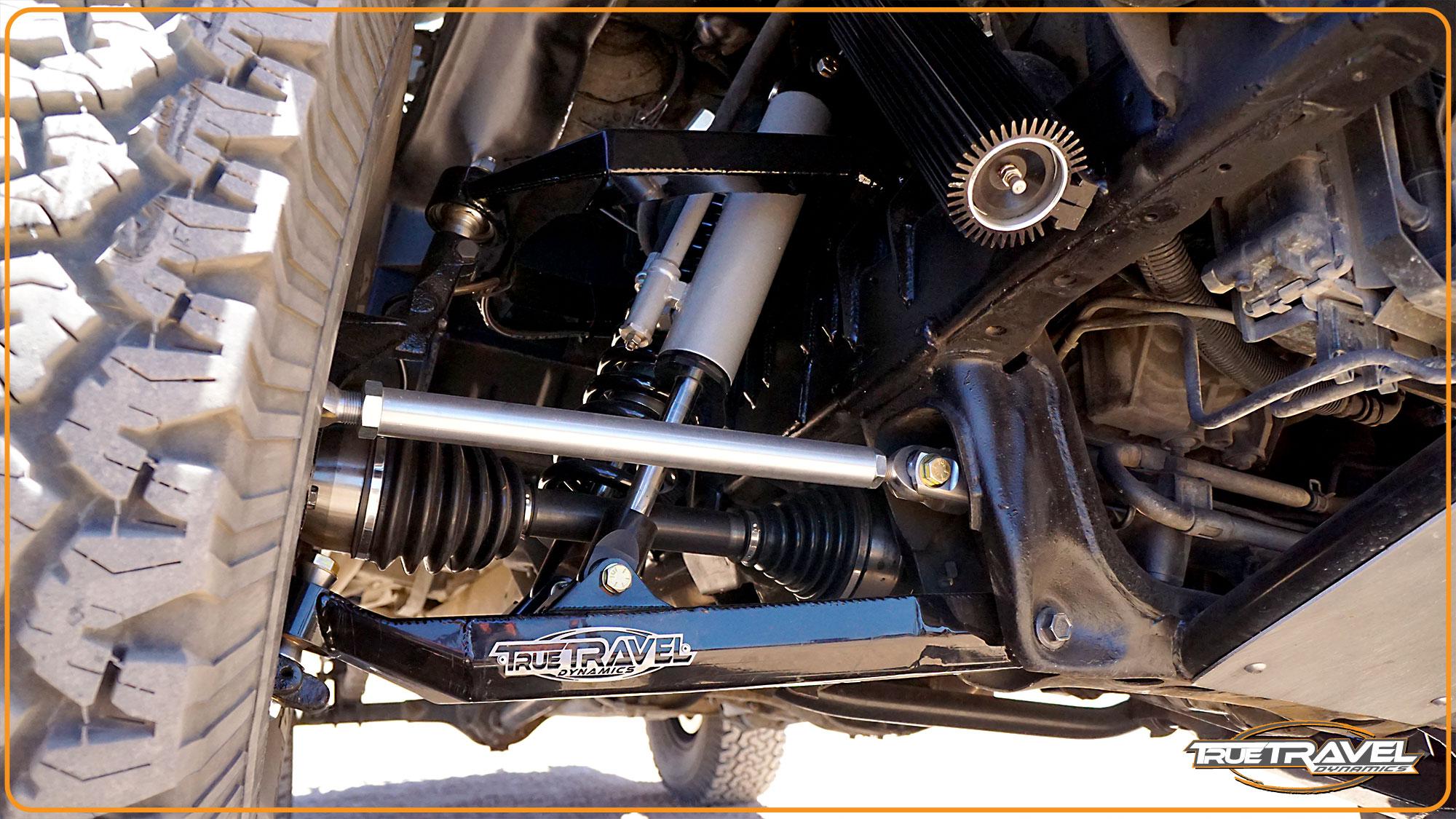 98-11 Ford Ranger 4WD +4.5 Long Travel Kit - True Travel ...