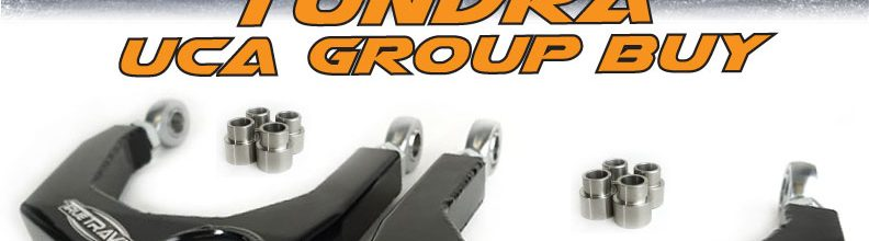 Tundra / Sequoia / Land Cruiser UCA Group Buy
