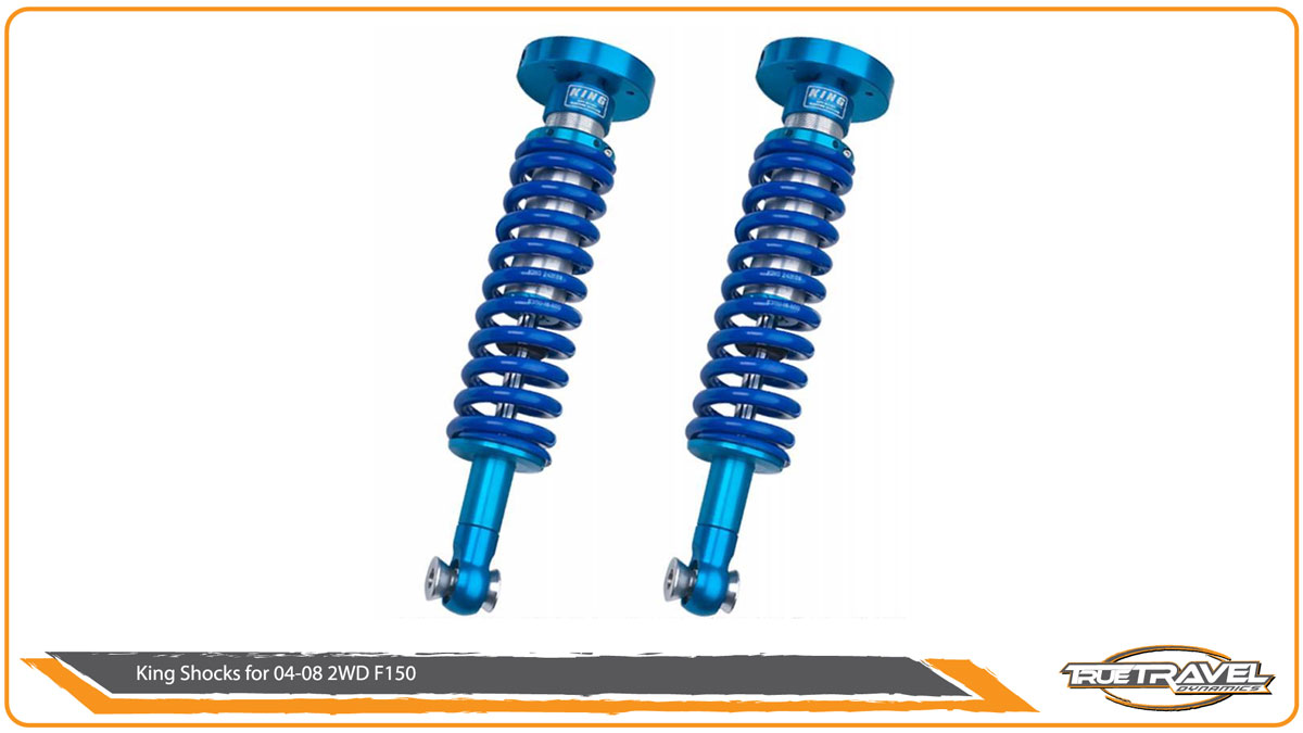 King shocks Coil-over for 04-08 F150 2WD