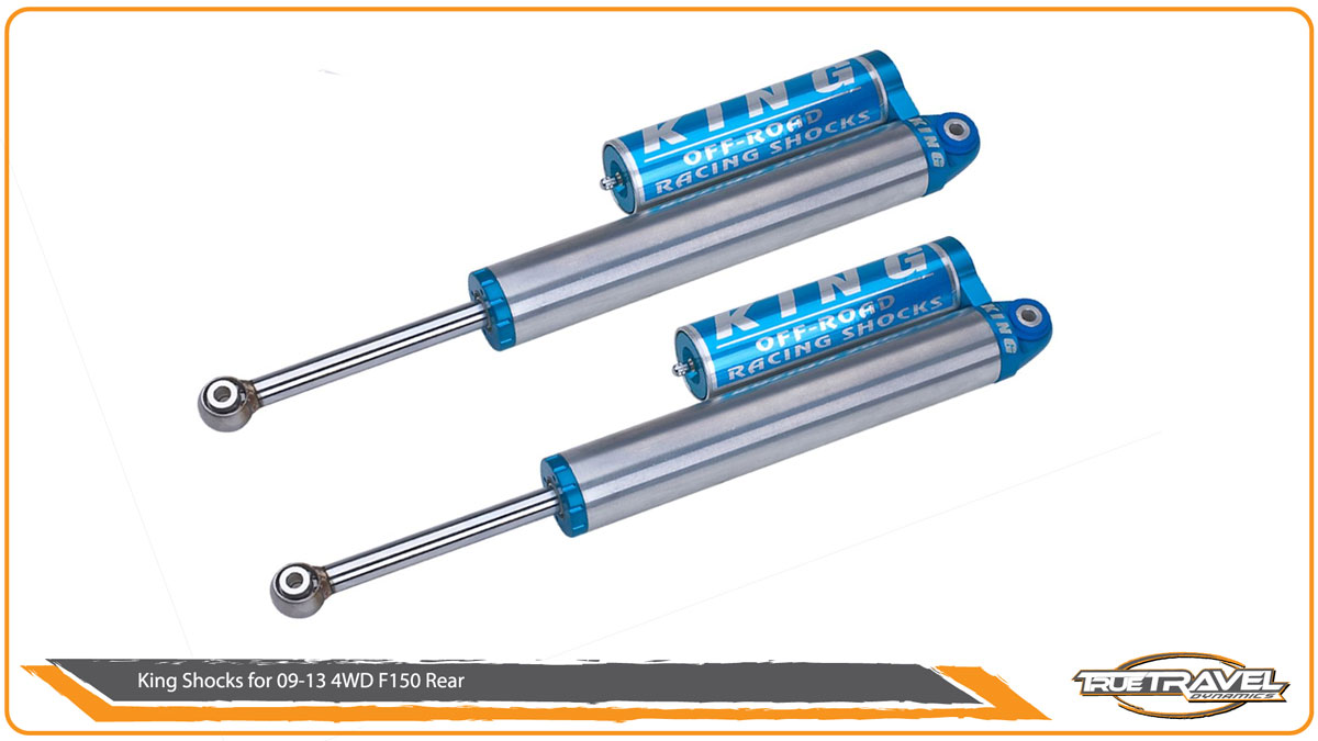 King Shocks for 2009-2013 F150 4WD Rear