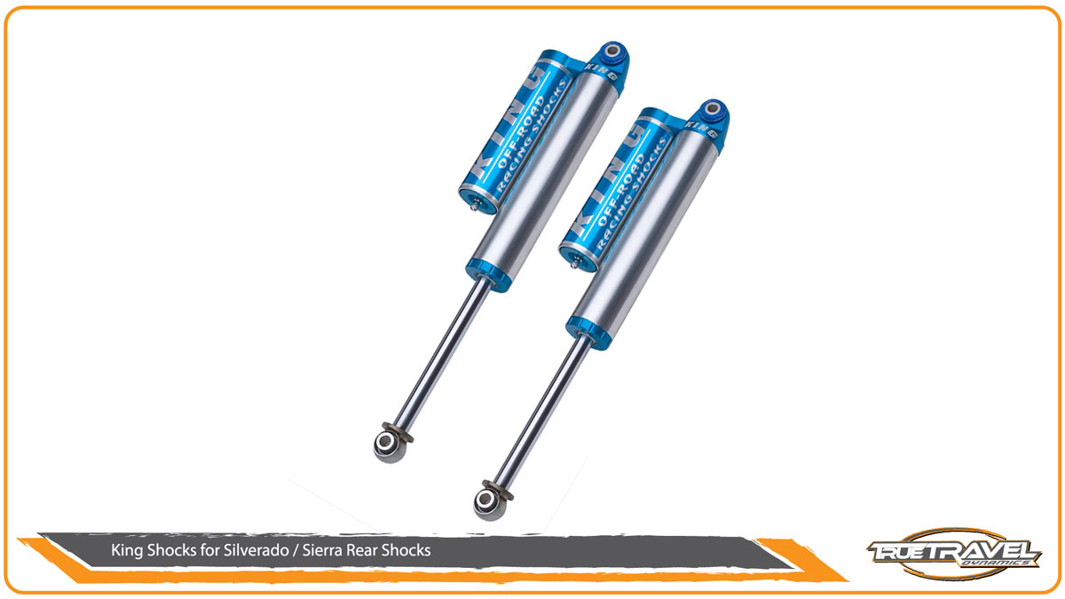 King Shocks for Silverado 1500 Rear Shocks