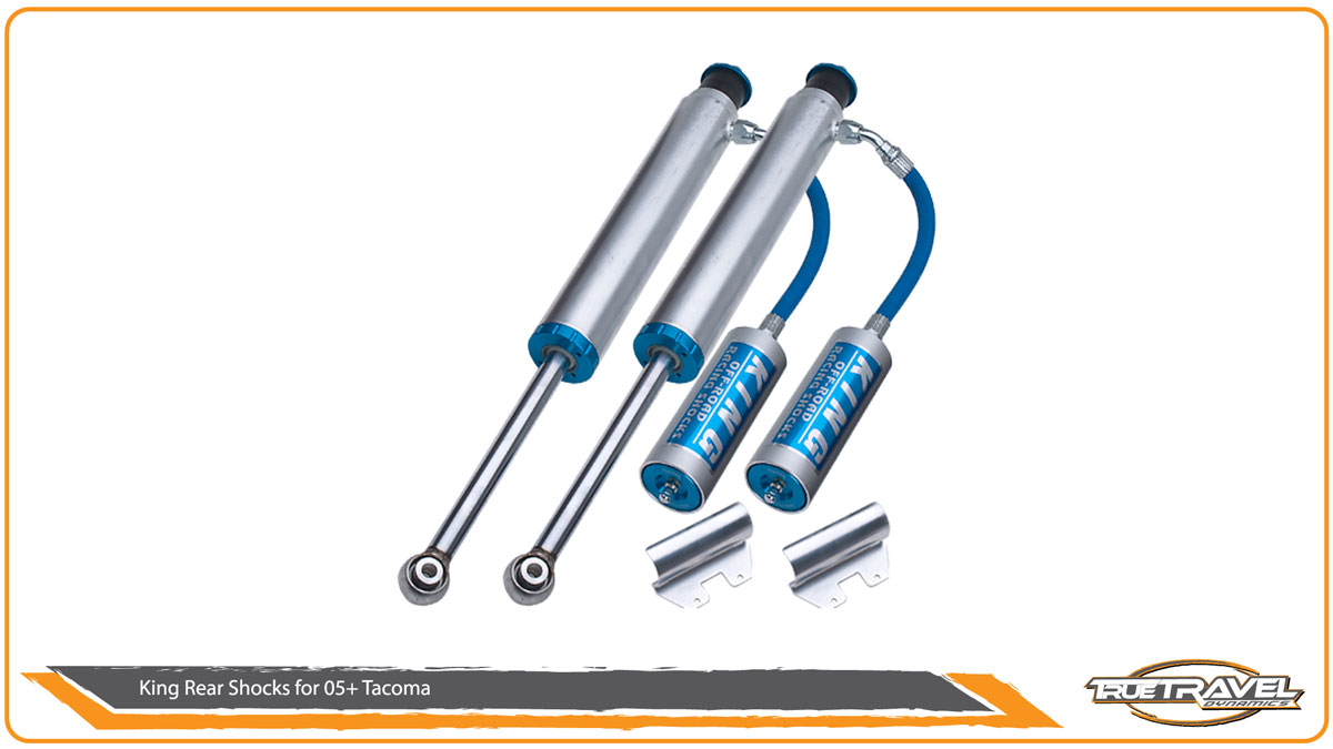King Shocks for Tacoma Rear Shocks